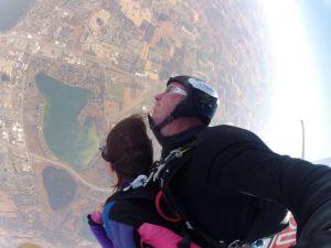 Free falling!