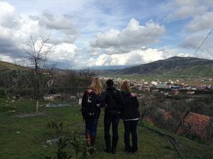 Overlooking Pajove