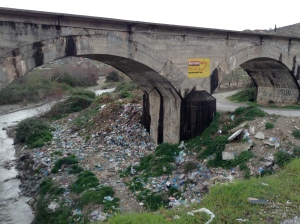 Unfortunately trash is a big problem in Albania.