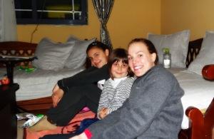 Anxhela, Brikena and I