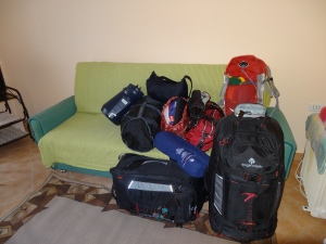 All of my bags are finally in one spot!!