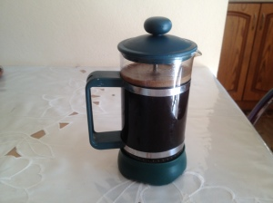 Speaking of coffee, I finally inherited a french press for my apartment. So exciting for mornings before work!!
