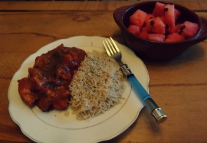Indian food! Slowly learning how to work with the quirks of my stovetop!
