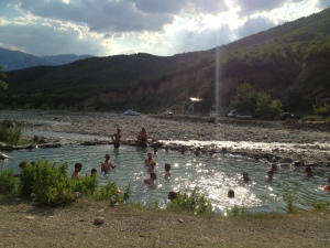 Benje- the thermal waters 14 km from Permet