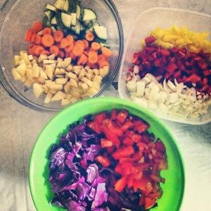 Fresh Veggies for soup