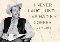 No laughing and please no shqip before coffee