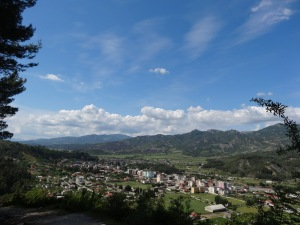 Mountain Eye View of Permet