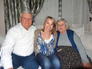 My grandparents in Albania!