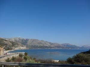 The beautiful views of Borsh