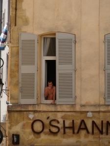 Enjoying those french views!