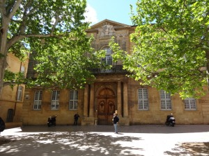University in Aix-En-Provence