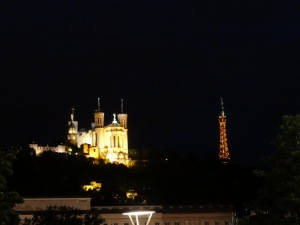 Lyon made their own, mini eiffel tower, because they were jealous of Paris.