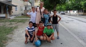 Some of my favorite neighborhood soccer players!