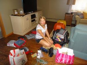 I hate packing.