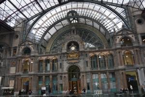 Belgium train station
