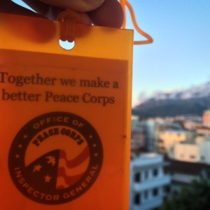 Goodbye Peace Corps