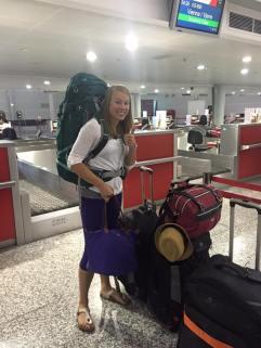 Heading to America!