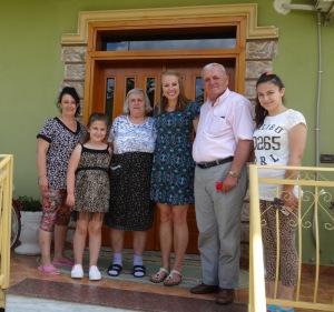 My host family and I.